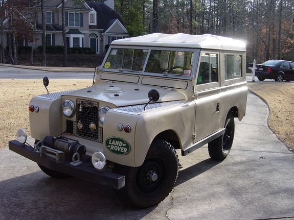 1968 Land Rover Defender - amazing how little they've changed in 45+ years! Always cool though!
