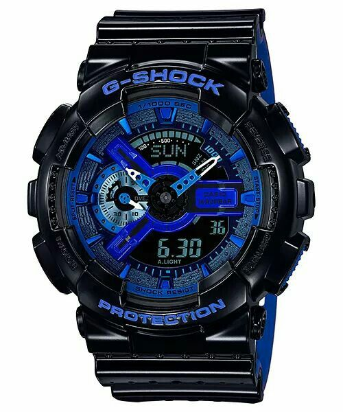 New GA-110 Punching Pattern series GA-110LPA-1AJF (Black) Releasing in Aug JPY 18,000 (+tax) Pics by G-SHOCK JAPAN