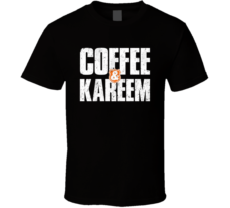 Coffee And Kareem Netflix Movie Poster Logo T Shirt in