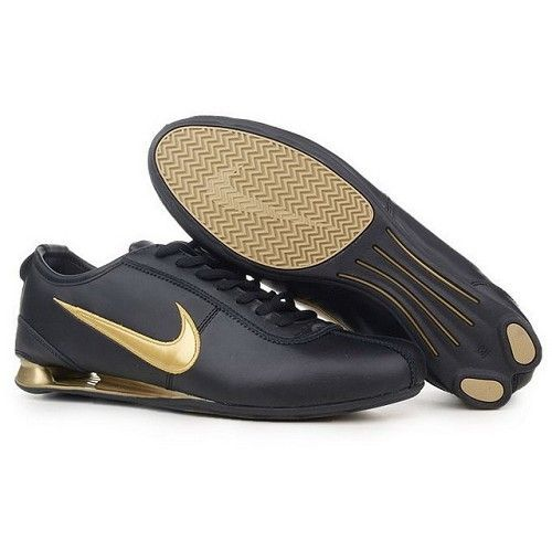 8f6fb20a509 Nike Shox R3 Black Metallic Gold Men Shoes 1048 For  53.80 Go To: http