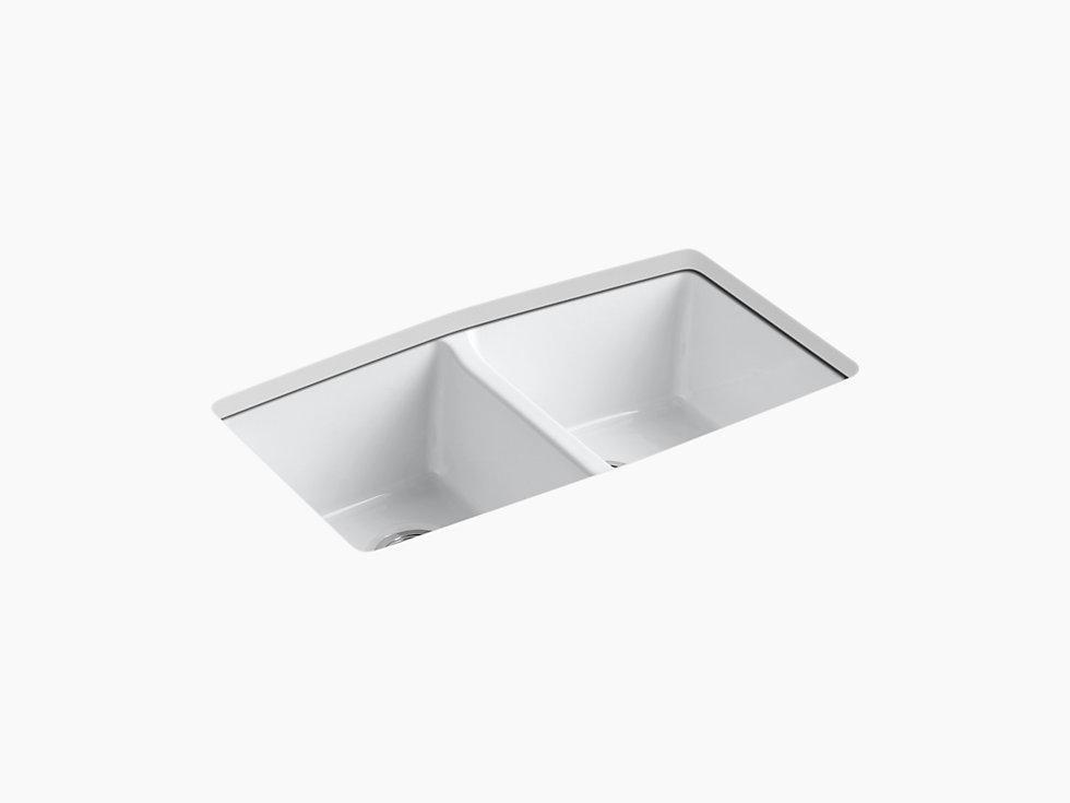 Kohler K 5846 5u Brookfield 33 Cast Iron Kitchen Sink