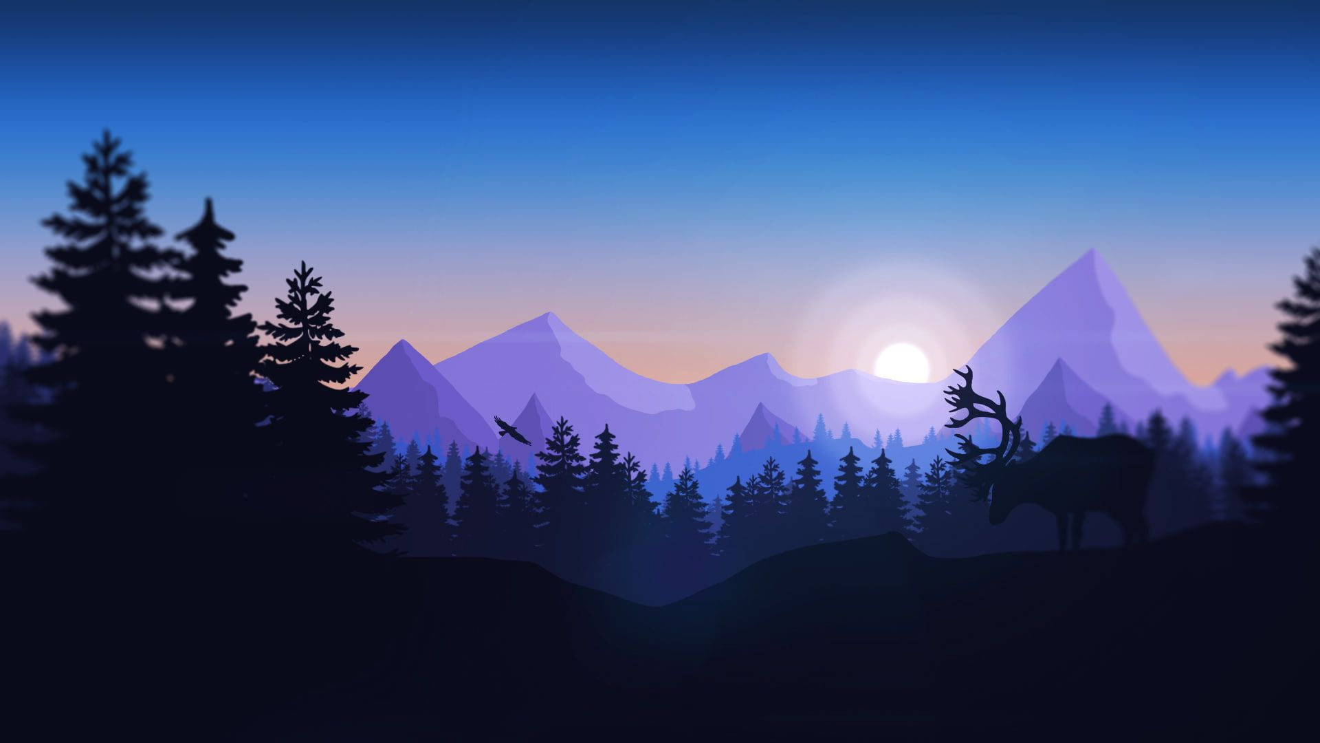 Firewatch Minimalism Games Hd Minimalist 1080p Wallpaper Hdwallpaper Desktop In 2020 Chill Wallpaper Desktop Wallpaper Art Minimalist Wallpaper