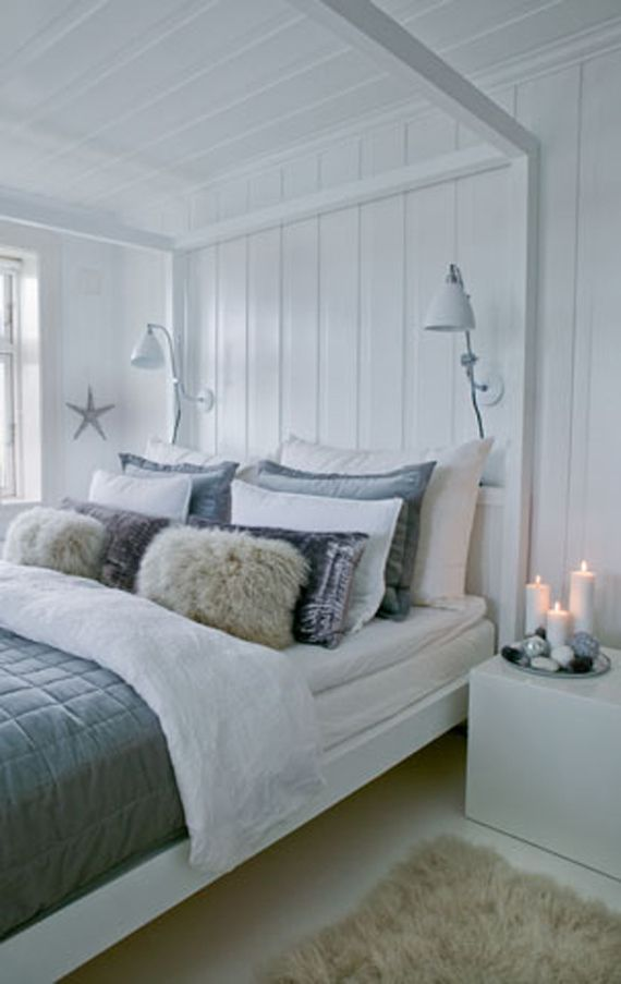Traditional Scandinavian Bedroom Interior Decorating Ideas