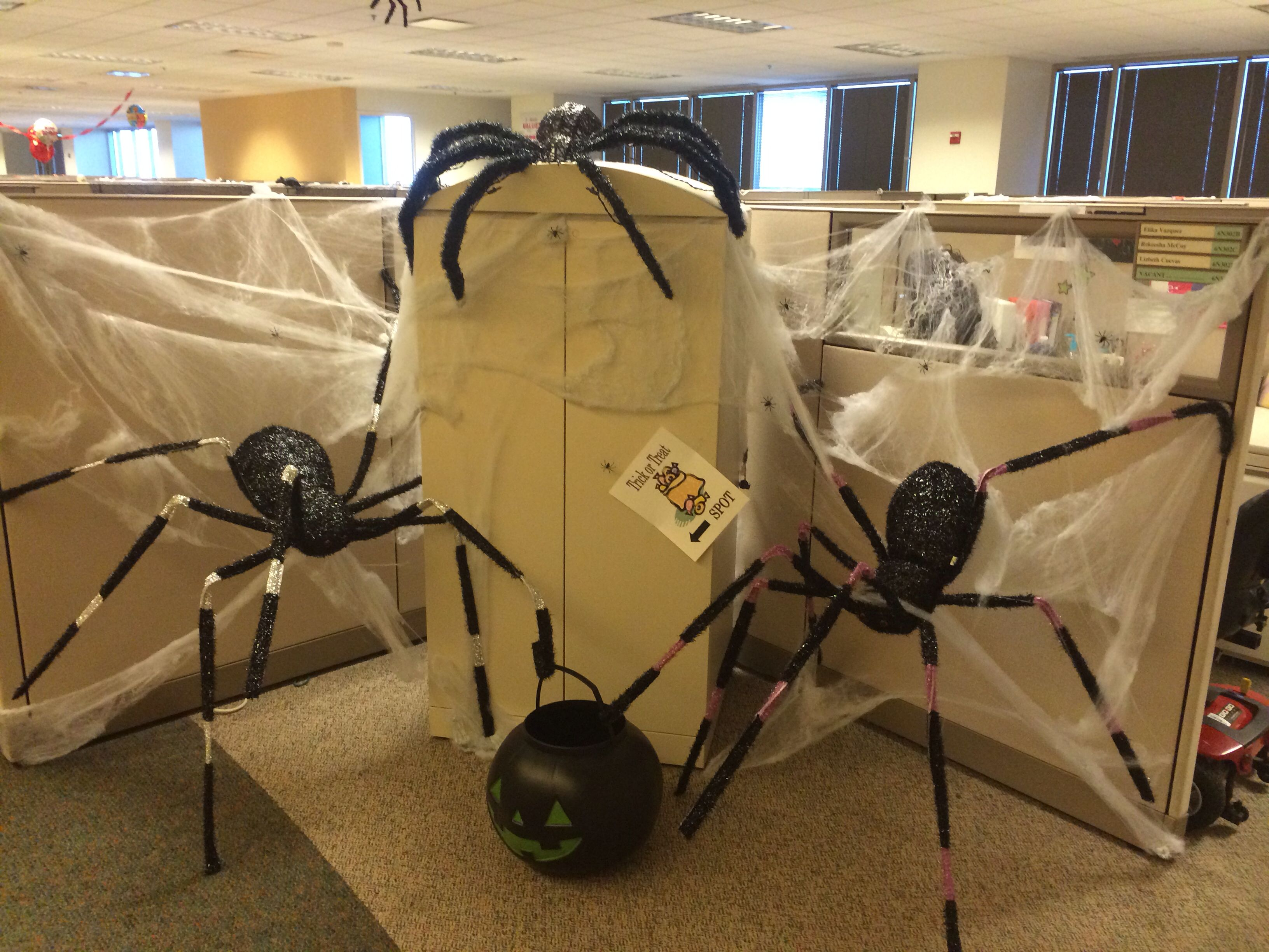 office halloween ideas. halloween decoration at my office ideas