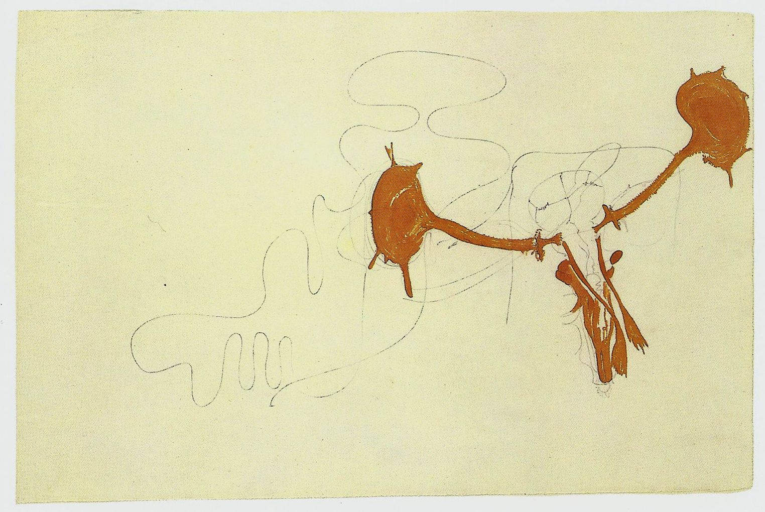Beuys, StagsHead,1954