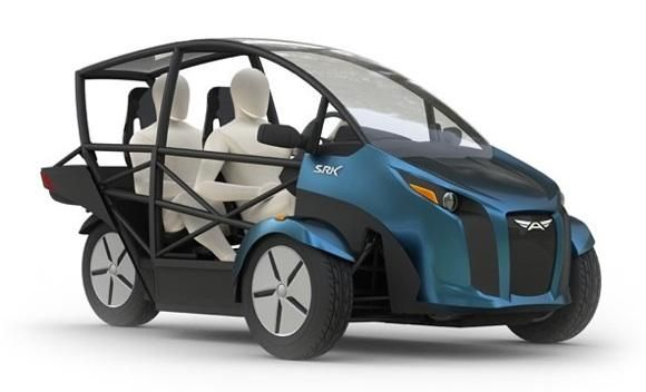 The Future Of Urban Transportation Electric Cars Electric Trike Reverse Trike