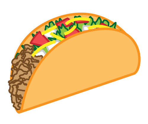 image result for taco clipart accessories pinterest melted rh pinterest com tacos clipart black and white mexican tacos clipart