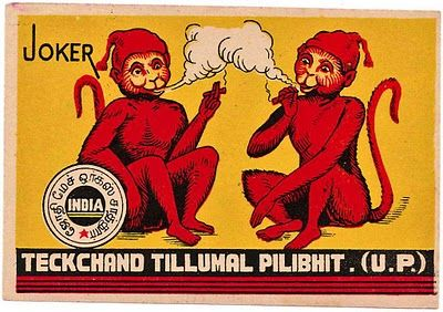 Indian match boxes