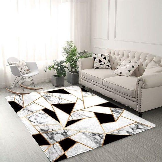 Pin By Snehaa On Decor Living Room Carpet Geometric Carpet White Area Rug Living Room