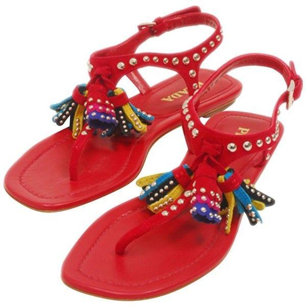 Pre-owned - Sandals Prada W5IEceSZ