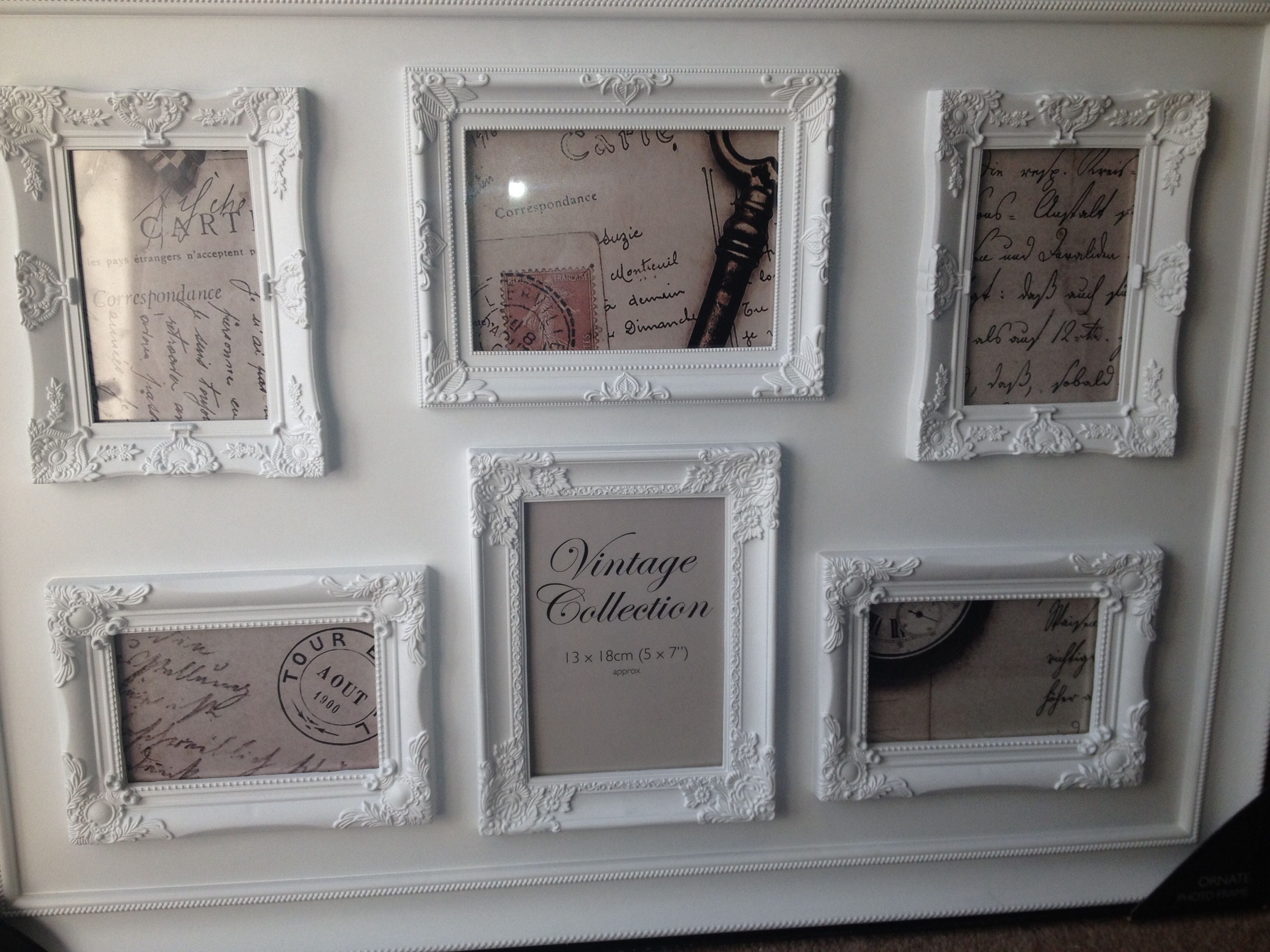My Table Plan Frame 15 B M Bargain We Needed Two X New Home Essentials White Photo Frames Frame