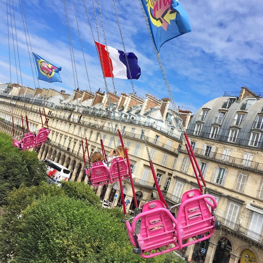 Manege Jardin Des Tuileries Fete Foraine Paris Fete Foraine