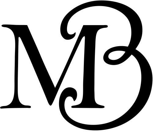 maisie benson mb logo caligraf237a mb logo logos y