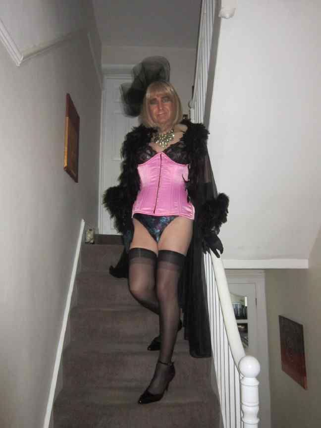 pantyhose crossdressing domination