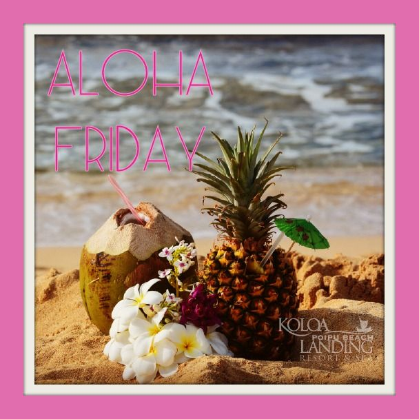 Aloha Friday! With optimal health often comes clarity of thought. Click now to visit my blog for your free fitness solutions!