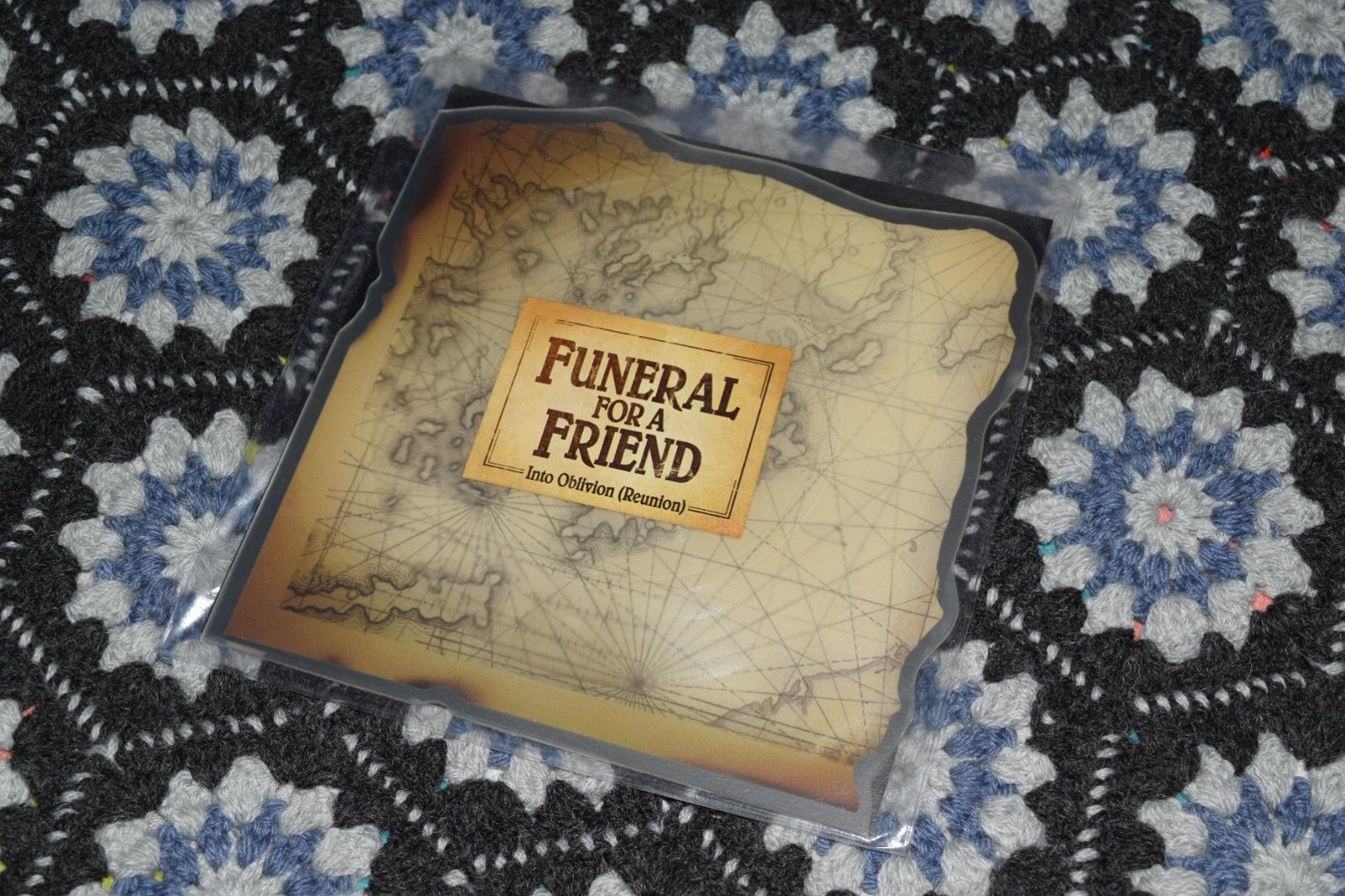 Funeral For A Friend Into Oblivion Reunion 7 First Pressing Shaped Picture Disc Reunion Shape Pictures Funeral