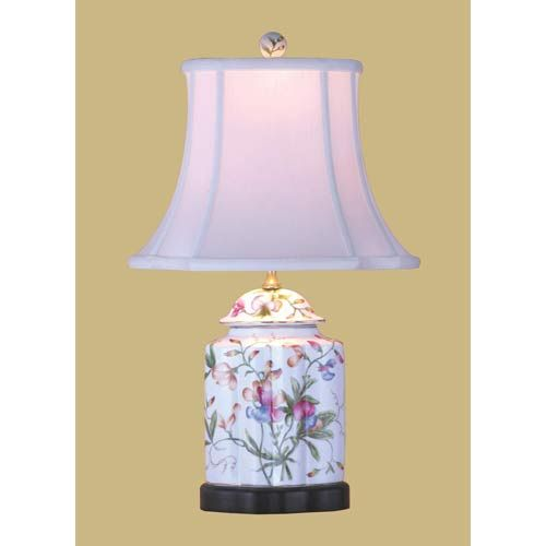 East enterprise scalloped tea jar lamp