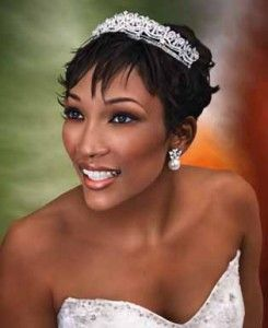Remarkable 1000 Images About African American Brides On Pinterest Bridal Hairstyles For Men Maxibearus