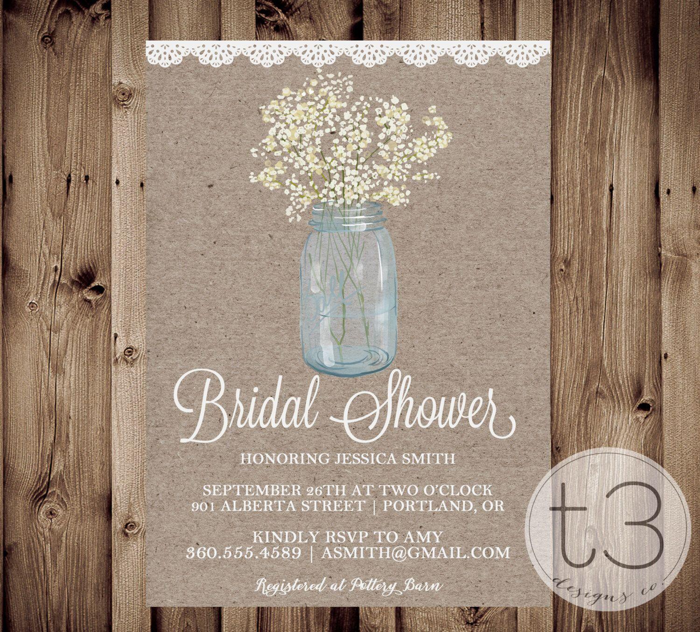 rustic bridal shower invites dhavalthakur com