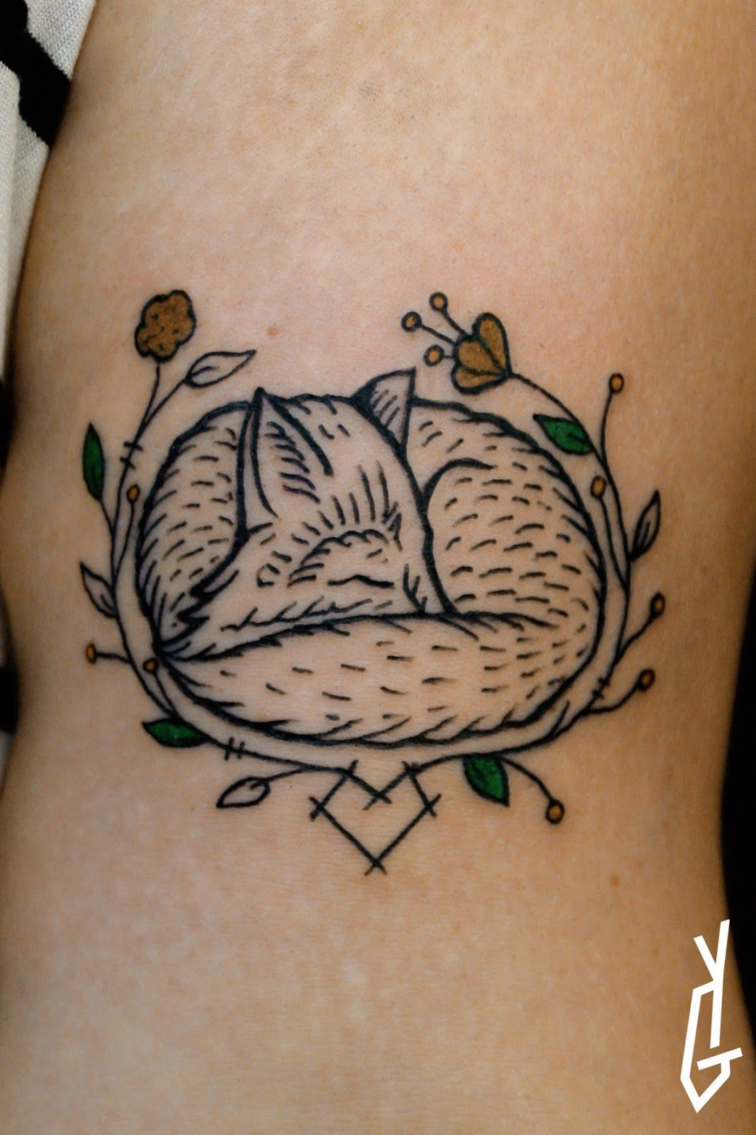 Small Fox Tattoo, Baby Tattoos