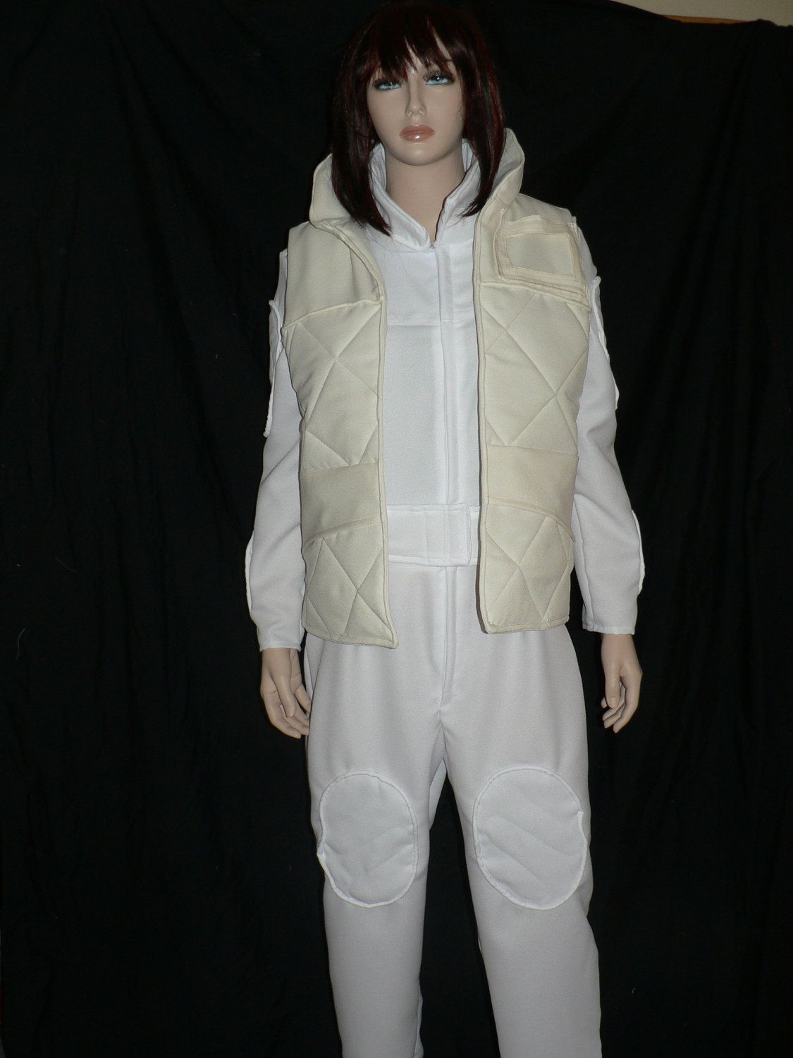 0f3b0eb26d15 Star Wars Princess Leia s Hoth Costume - White Jumpsuit With Vest ...