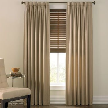 Jcpenney Curtains Living Room And Prelude Pinch Pleat Curtain ...