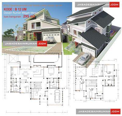 Desain Rumah Mewah 2 Lantai 2014 Rumahmewah Org Denah Rumah Denah Lantai Rumah Desain Rumah