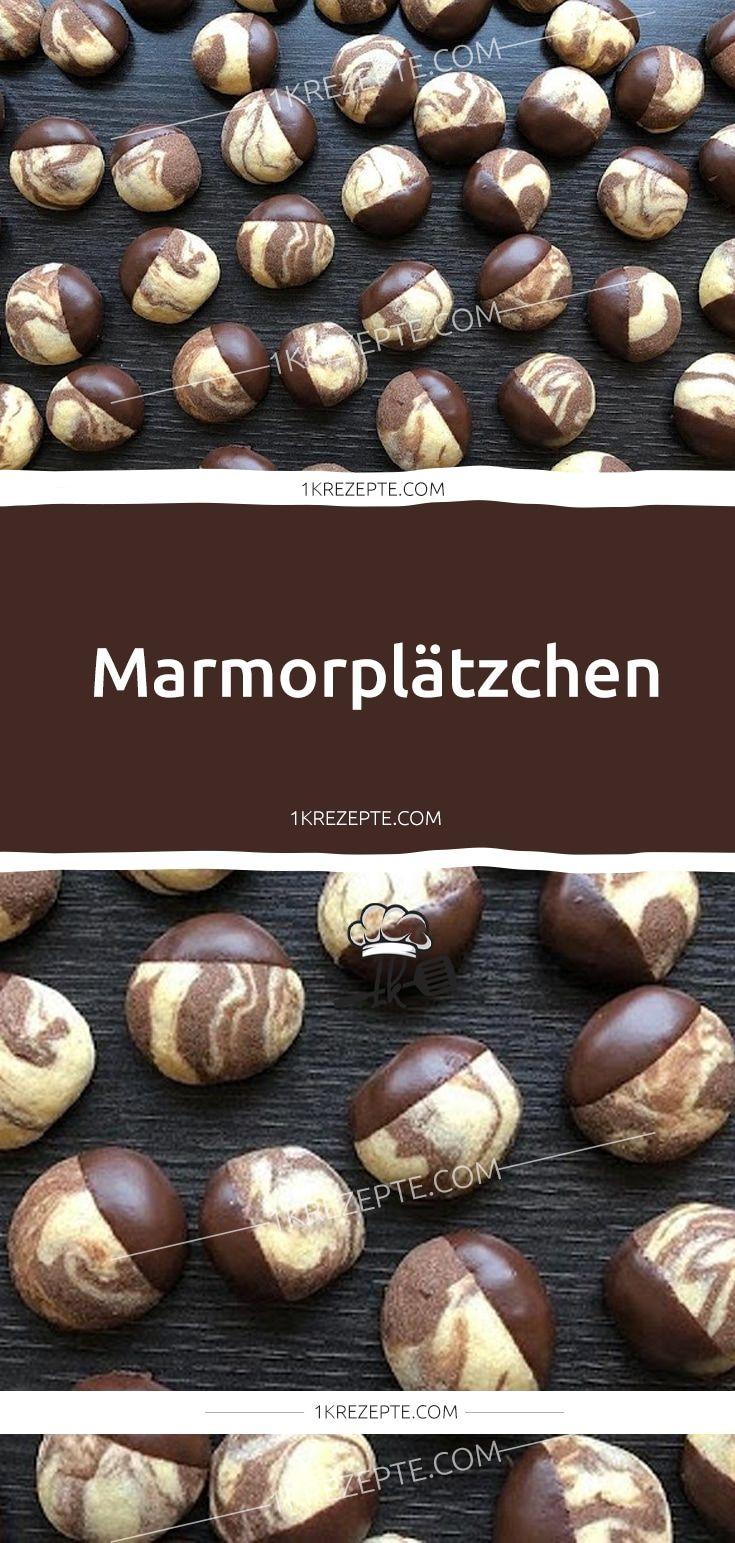 Marmorplätzchen - 1k Rezepte #konfektjul