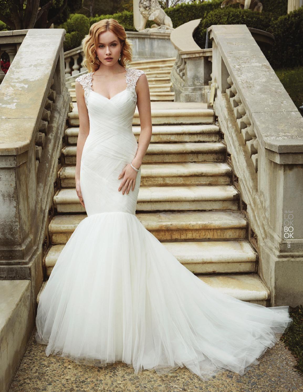 The Knot Spring 2016 Mermaid wedding dress, Enzoani