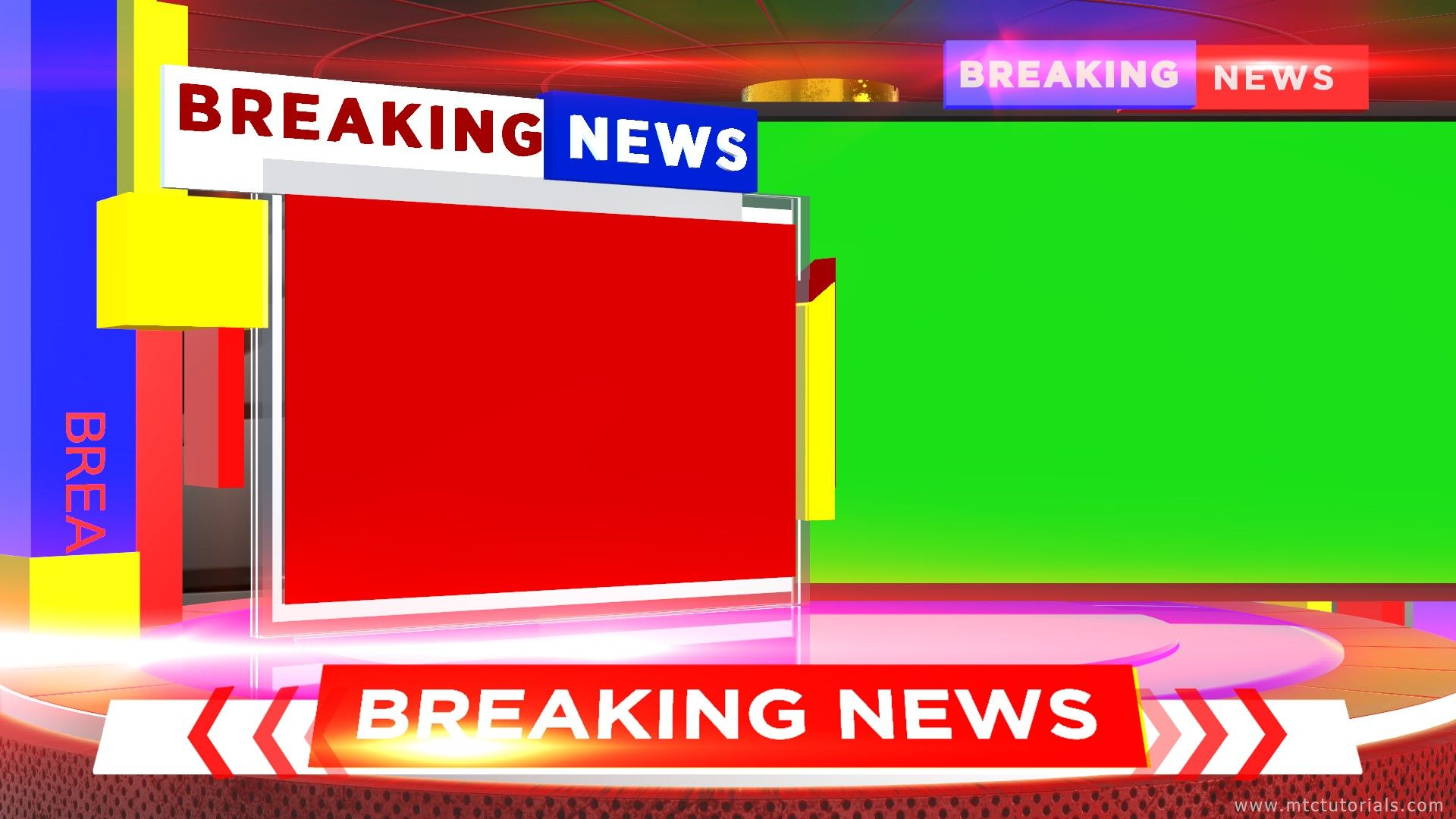 Adobe After Effects Free Breaking News Templates Mtc Tutorials Photoshop Templates Free Templates Breaking News After effects news template free