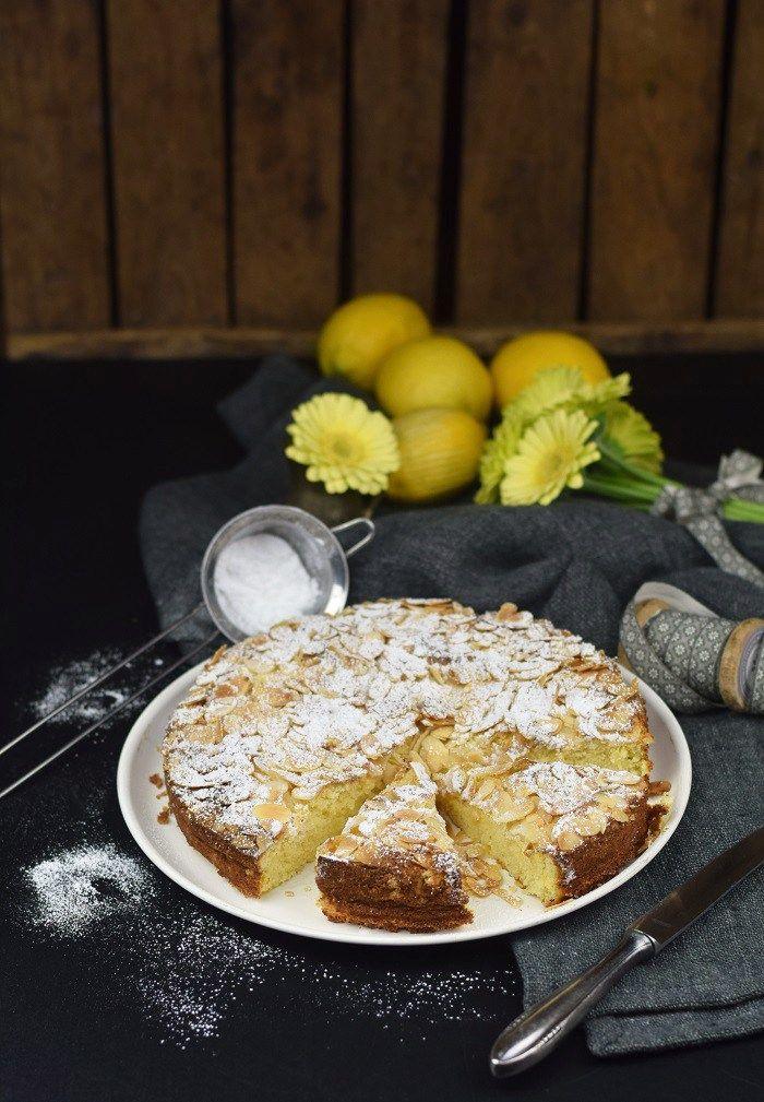 Zitronen Mandelkuchen Glutenfrei - Lemon Almond Cake Glutenfree | Das Knusperstübchen