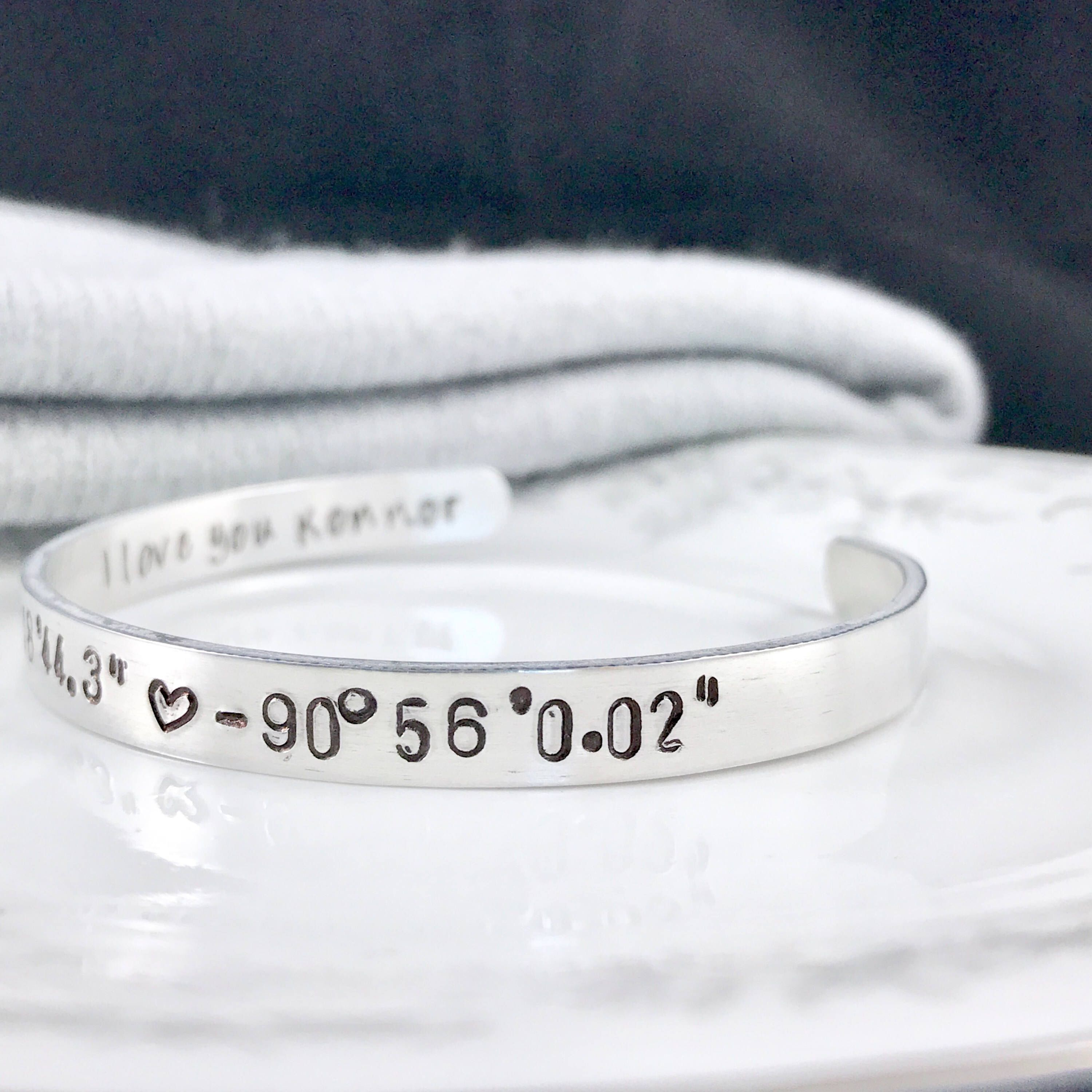 personalised men coordinate product clay s bracelet silver sally mens