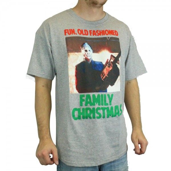 Christmas Vacation Old Fashioned Family Christmas T-Shirt - Grey