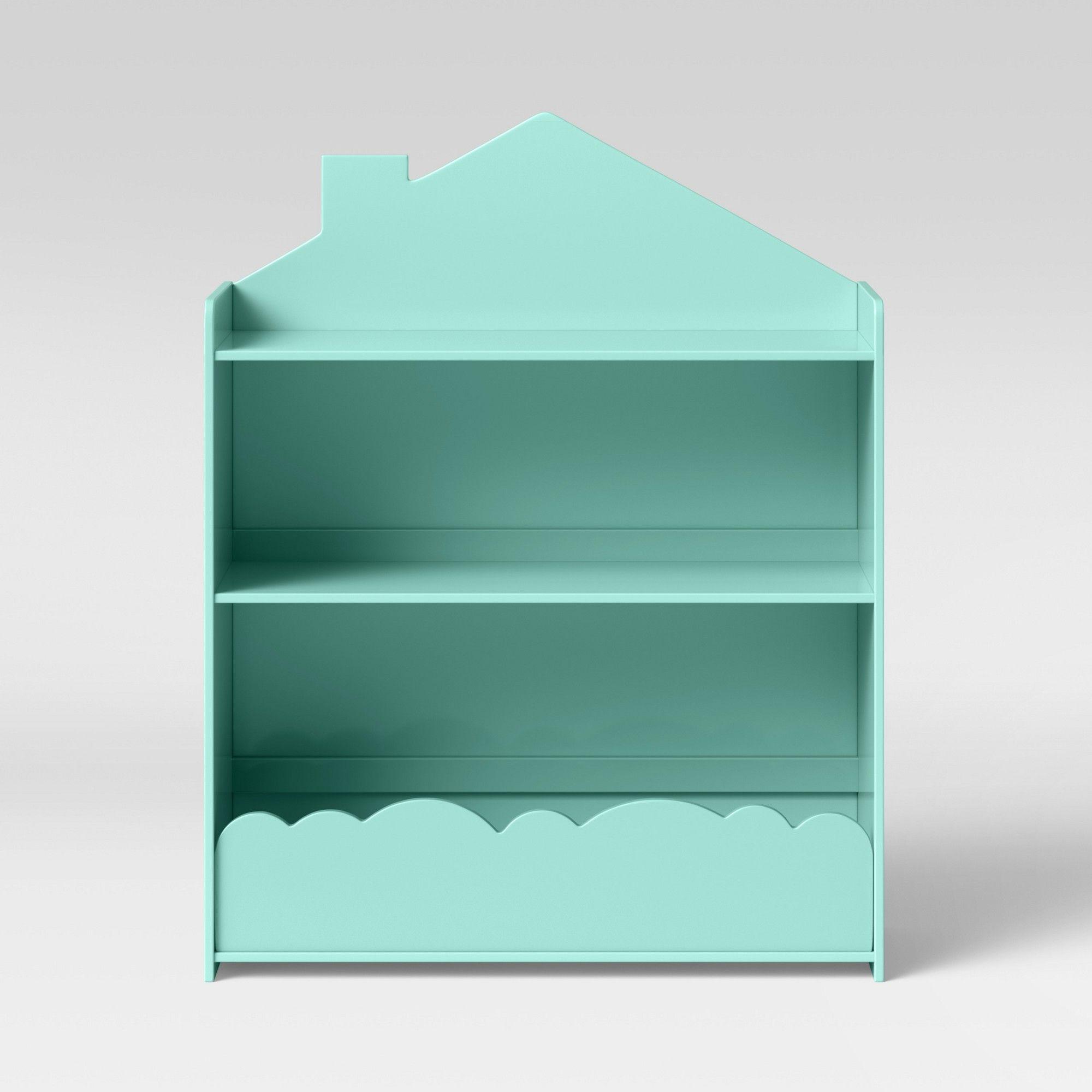 Kids Cloud Bookcase Mint Green Pillowfort Bookcase Kids Furniture Pillow Fort
