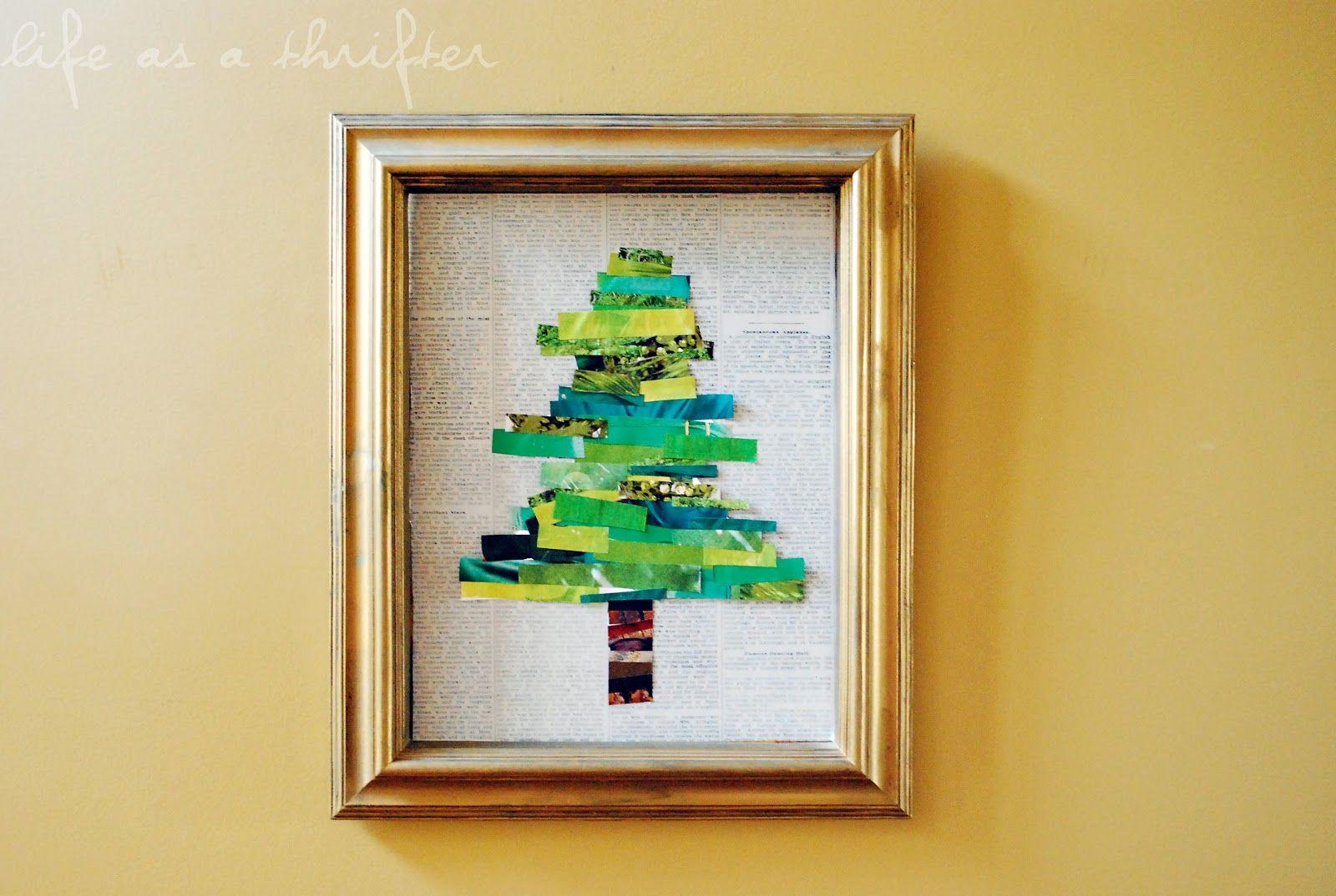 Christmas Wonderful: Petit Collage For Kids | Christmas tree, Craft ...