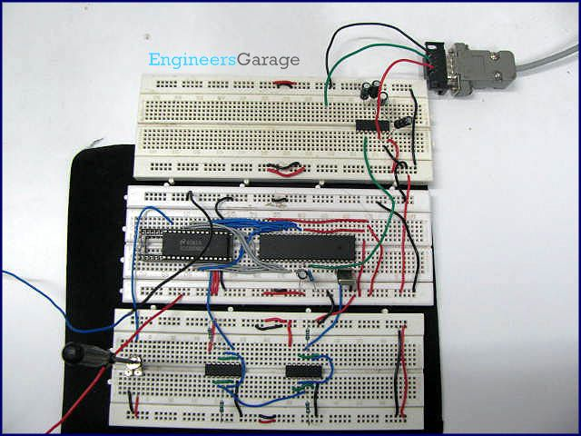 Circuit Diagram Of The Serial Port A D Converter This Picture Is