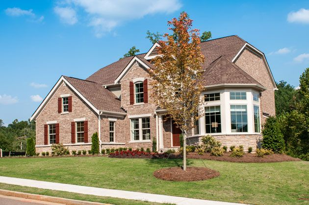 New Homes In Canton Ga At Millstone Creek Fischer Homes Builder Model Homes Home Builders New Homes