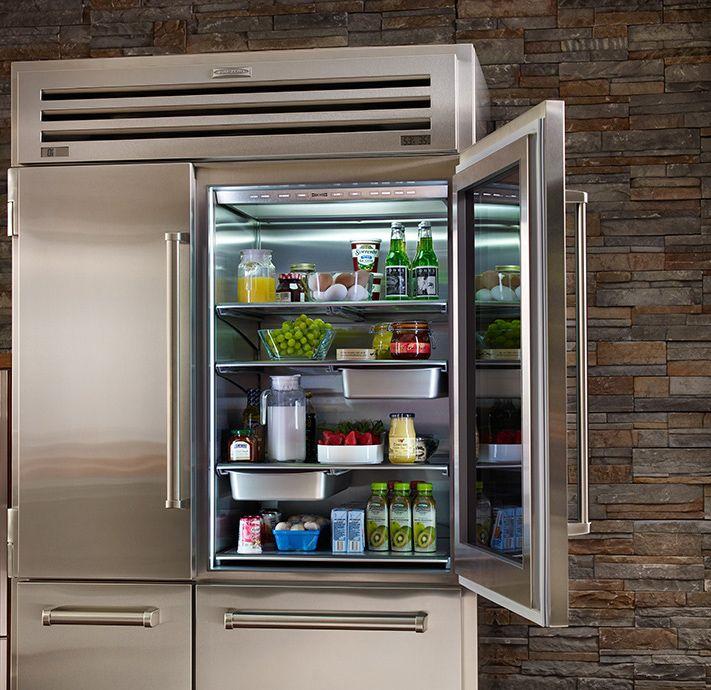 fridge magnets sub zero built in counter depth side refrigerator view image diy locker instructions