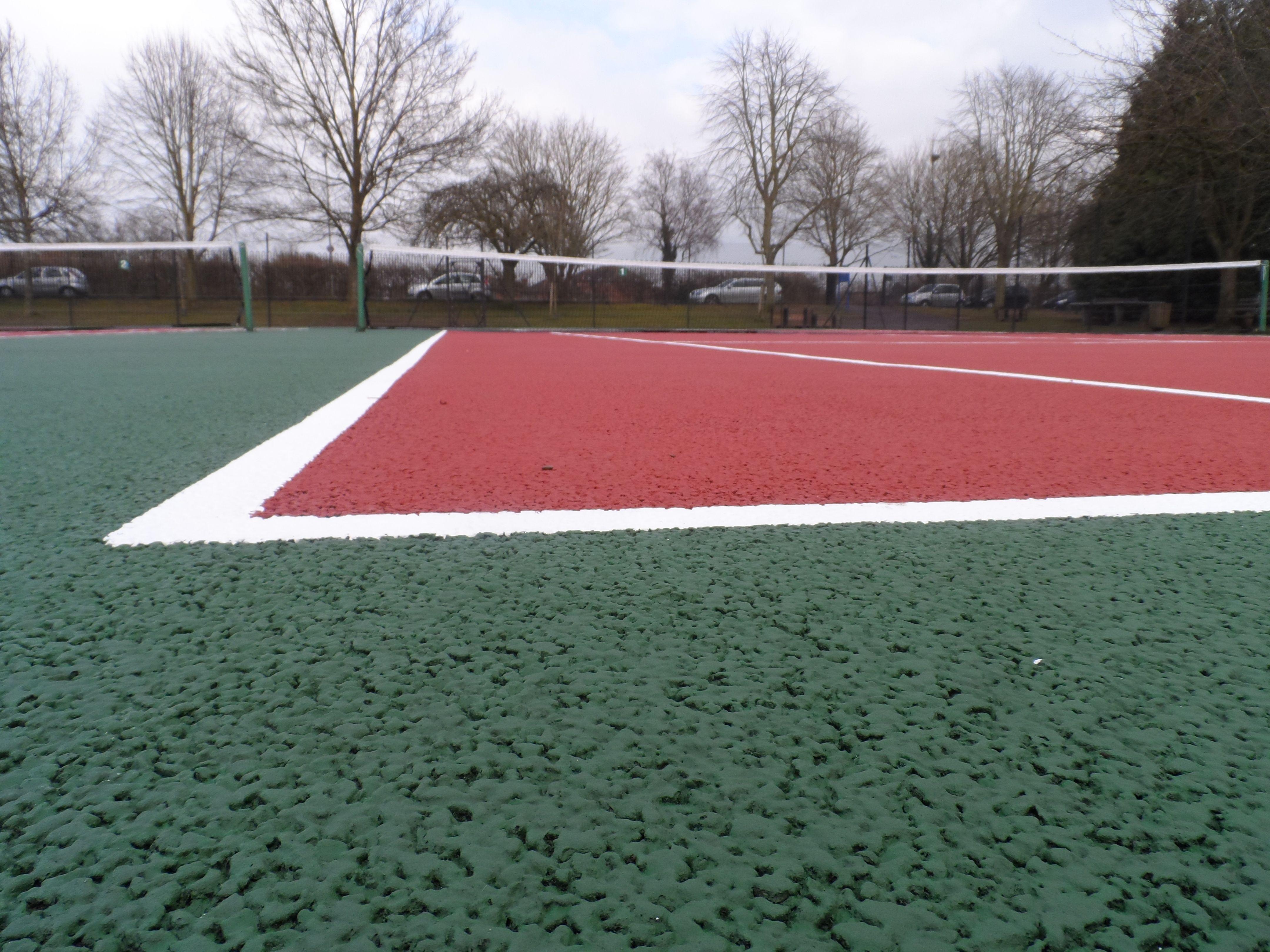 Tennis Court Binder Coat Specialists Sports, Outdoor