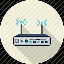 Broadband Internet Network Router Server Technology Wireless Icon Business Icon Broadband Internet Broadband