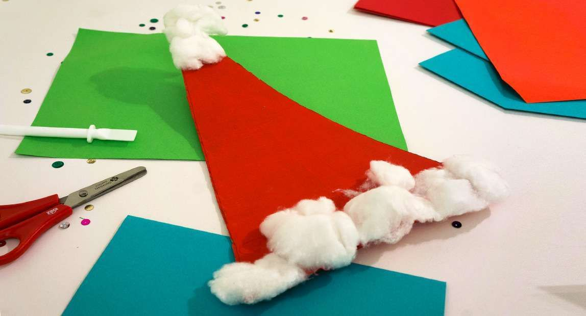 Lavoretti Di Natale Per Lasilo Nido Il Cappello Di Babbo Natale