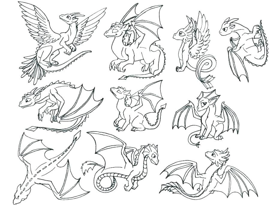 Coloring Pages For Kids How To Train Your Dragon