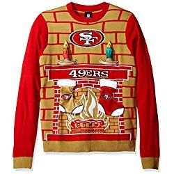 Nfl San Francisco 49ers Ugly 3d Sweater Medium Ugly Christmas