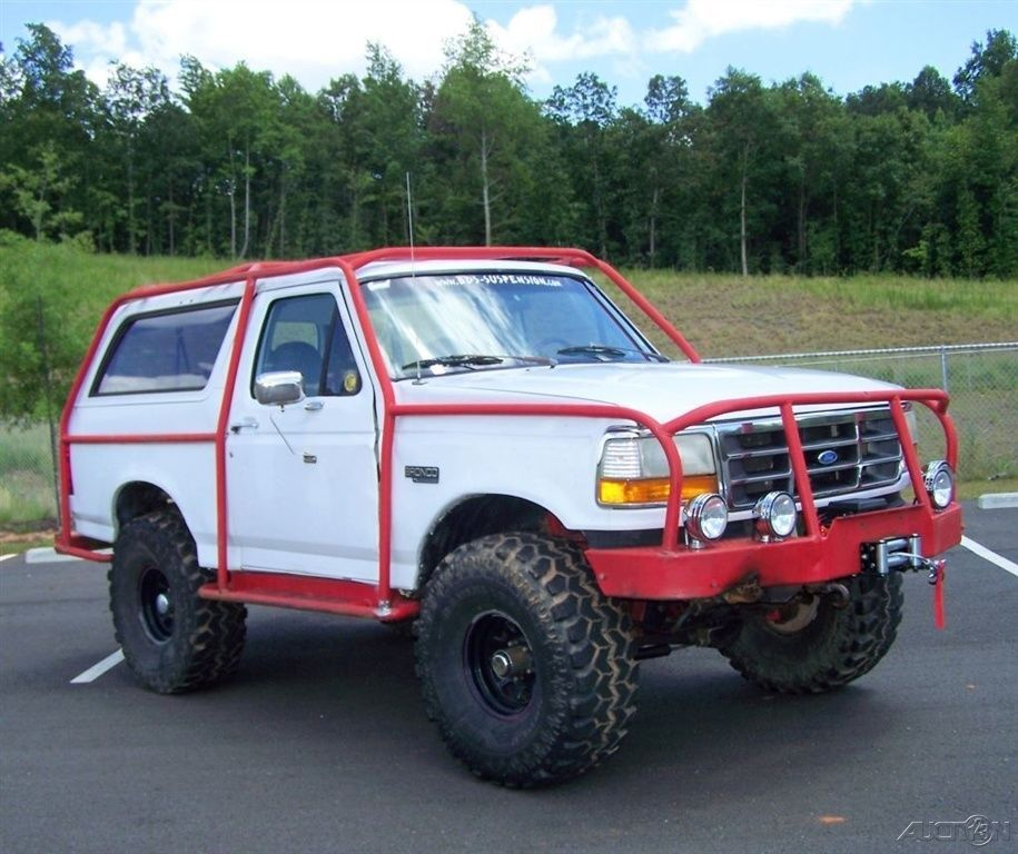 Exoskeleton Roll Cage 1996 Ford Bronco XL 4X4 Wagon