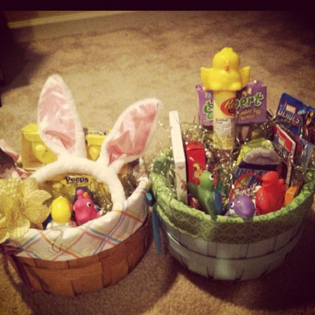Easter baskets for my babies 3 baby easter baskets pinterest baby easter basket negle Choice Image