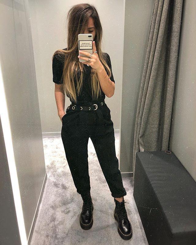 Minna High sur Instagram : Anzeige • all black 🌚 fav pants from @kaiser_mode UG in Freiburg ⚡️#ad #anzeige