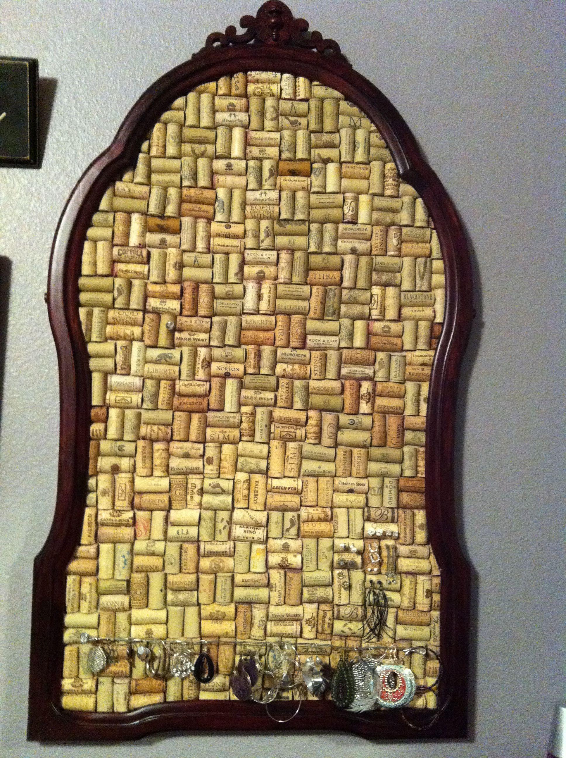 Cork Board Aka A Home For My Earrings Made Out