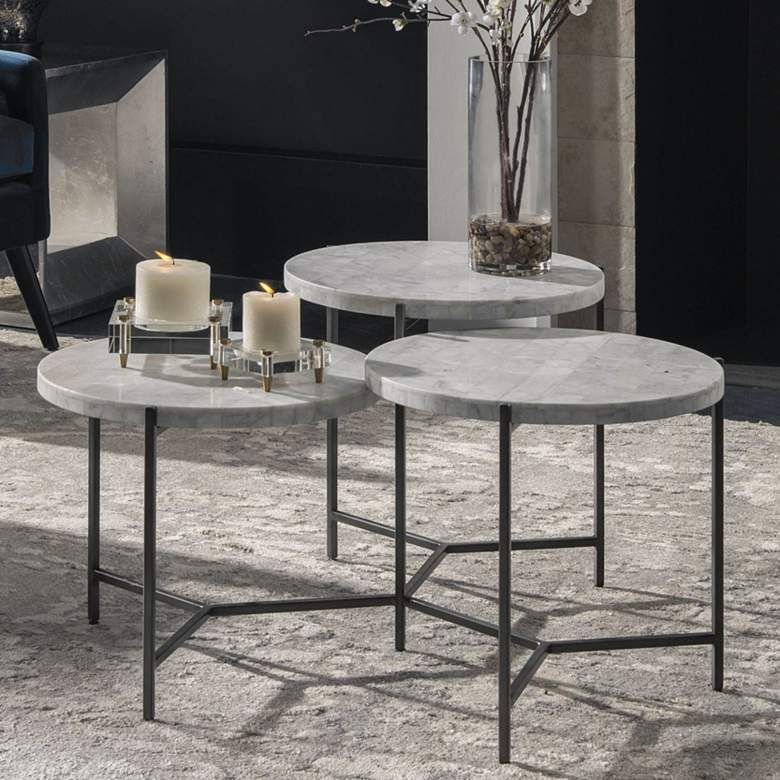 Uttermost Contarini 38 W White Marble 3 Tiered Coffee Table 78d37 Lamps Plus In 2020 Coffee Table Rectangular Coffee Table Living Room Lighting Tips