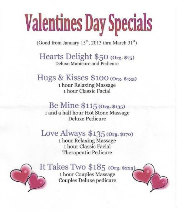 Sensei Med Spa Valentines Day Specials 2013  Spa Decor-9094