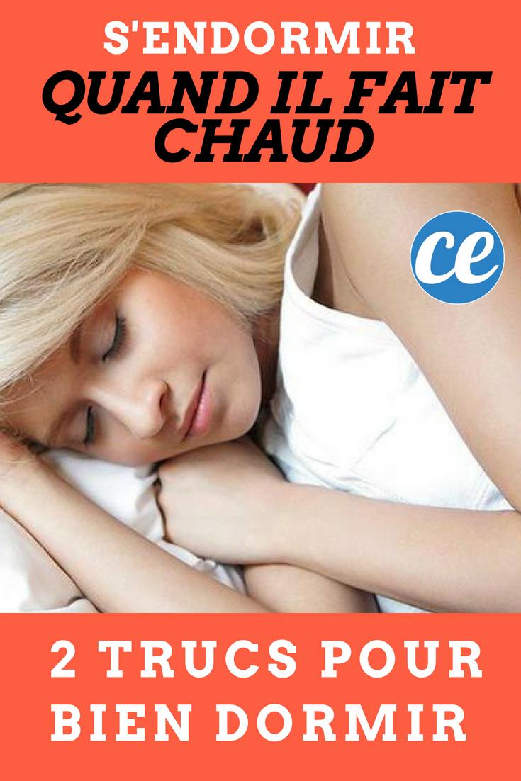 S'endormir Quand il Fait Chaud : Mes 2 Trucs Pour Bien ...